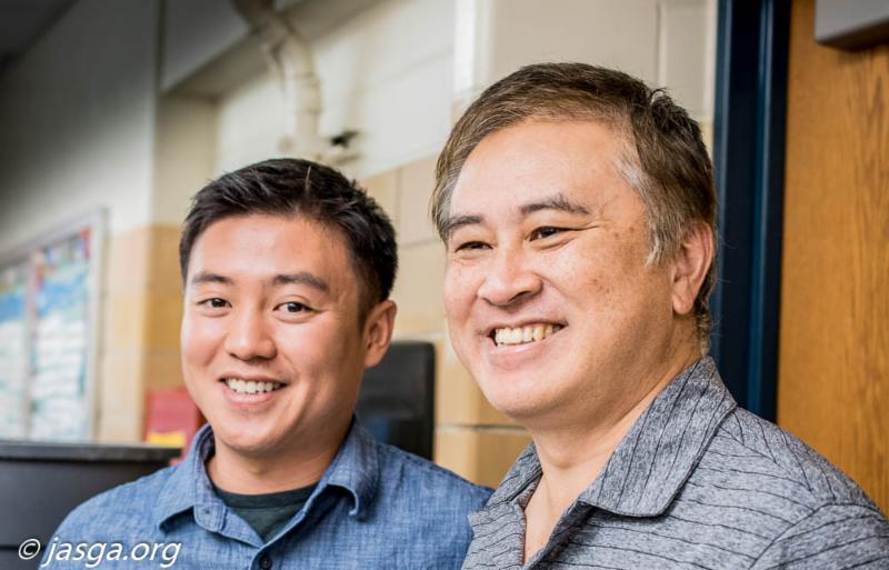 Yuta Yamaguchi and K Yamamoto