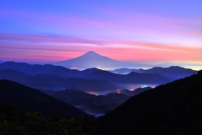 Mt. Fuji Summer Twilight