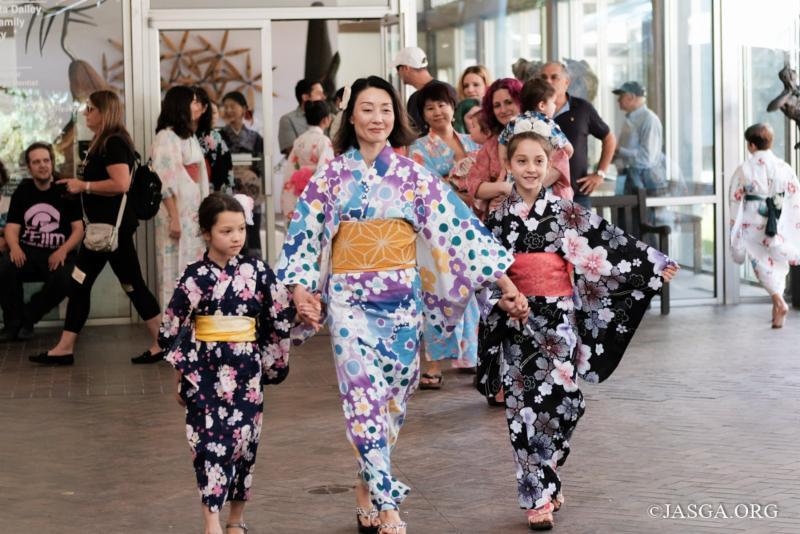 Yukata Fashion Show