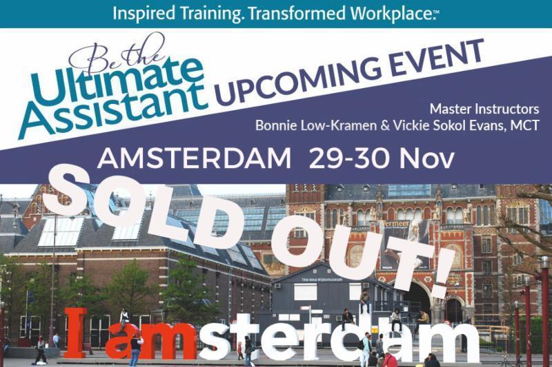 BTUA Amsterdam Nov 2018  SOLD OUT!