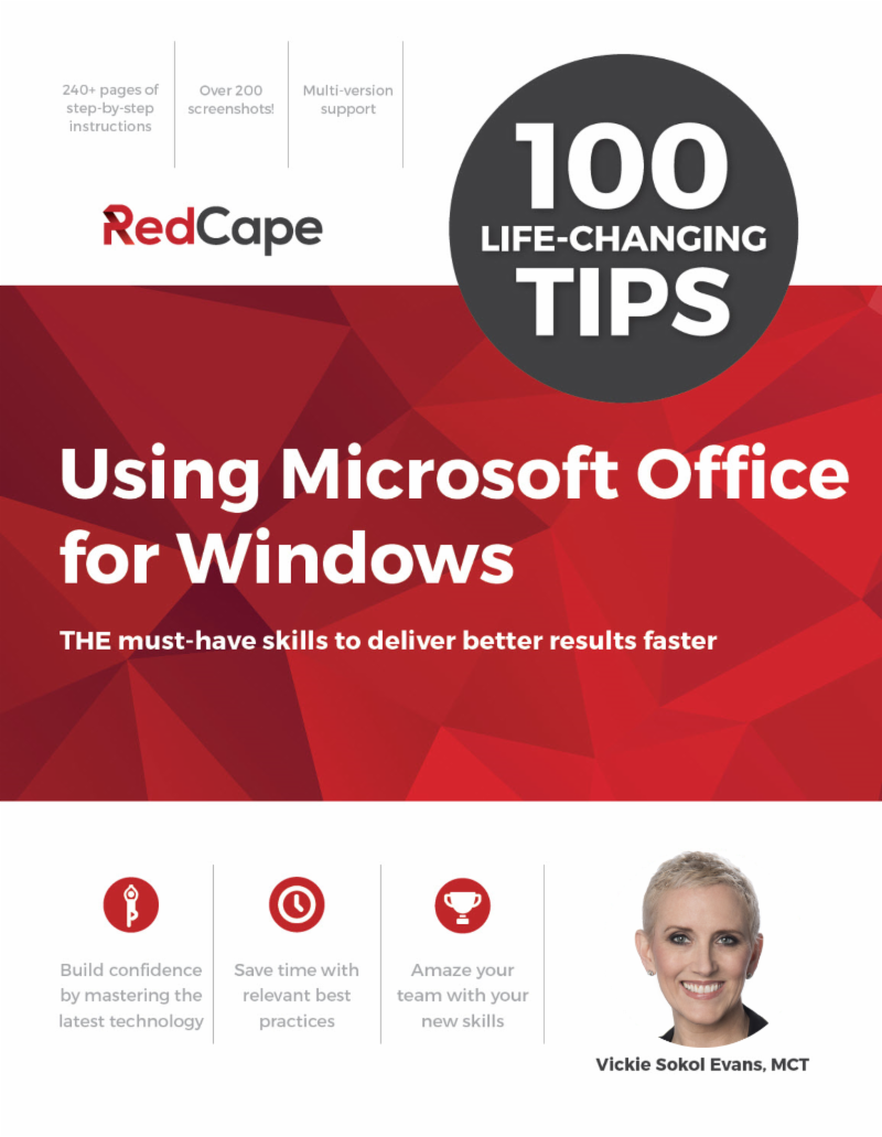 100 Tips Using Microsoft Office for Windows