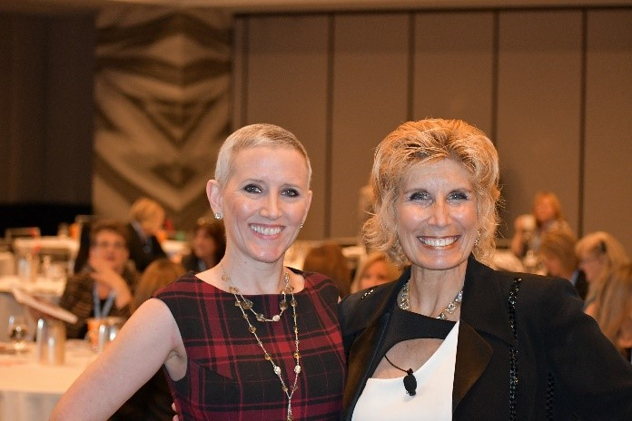 Bonnie and Vickie at LIVE in DC