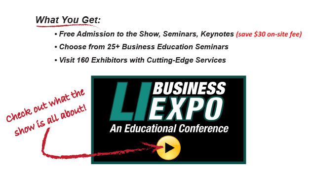 Free Admission to all show features and save $30. Get admission to the Pre-Show VIP reception. Select your seminars first. Watch the video to learn more about LIBExpo