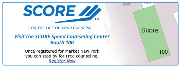 Learn from those whom been in business and know the ropes in the SCORE Speed Counseling Center.