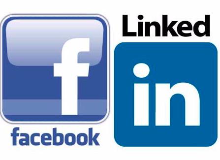 Facebook & LinkedIn