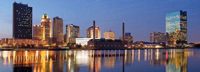 Toledo Skyline from the Maumee River