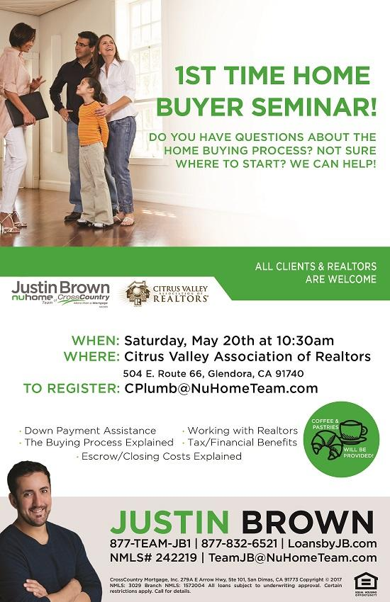 5 20 First Time Home Buyers Seminar