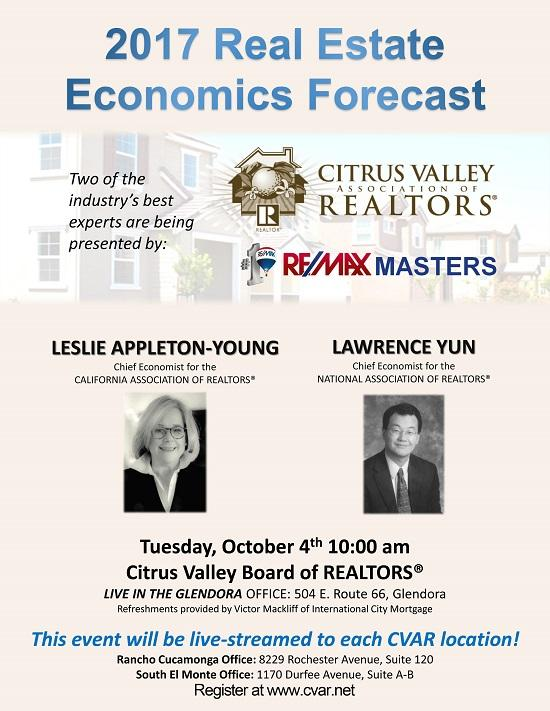 Real Estate Economics : Real estate economics forecast