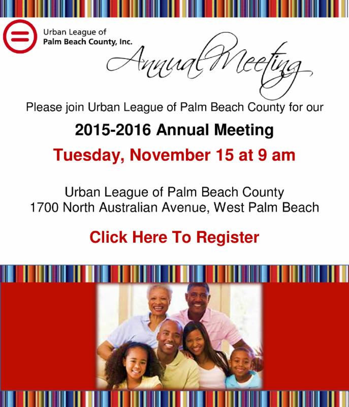 Urban League Palm Beach County West Palm Beach Fl