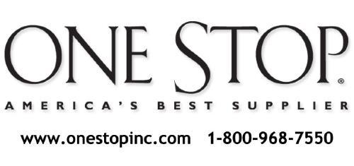 ONE STOP 1-800-968-7550  ONESTOPINC.COM