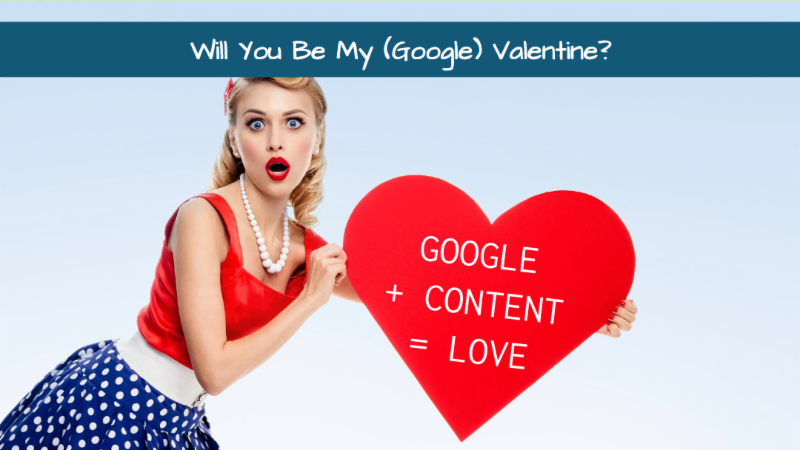 Will you be my google valentine_