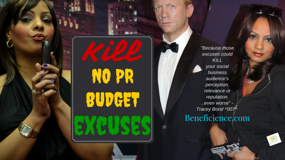 Hire ePRess Agent Bond Girl 007 Chief Publicist at Beneficience Public Relations of Beverly Hills Hollywood Chicago and London UK today at Beneficience.com