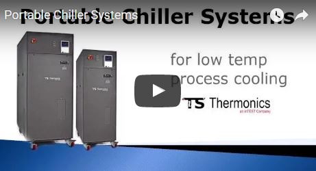 Portable process chiller video