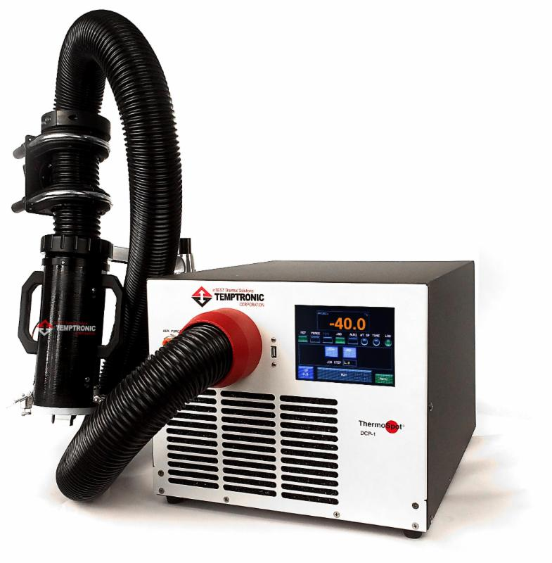 ThermoSpot temperature system for IC testing