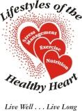 Lifestyles of the Healthy Heart LLC logo