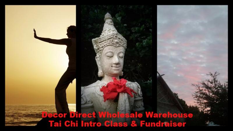 Tai Chi Class Fundraiser At Decor Direct Wholesale Warehouse For Habitat H