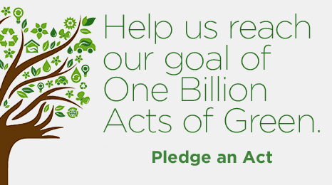 BillionActsofGreen