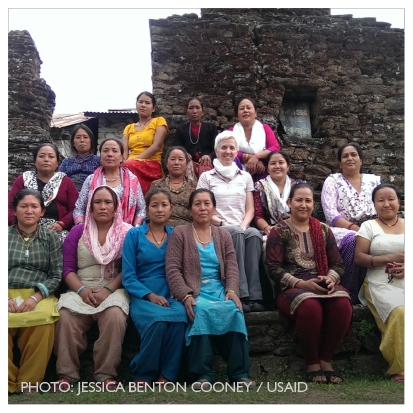 From Nepal, a story of a   trafficking survivor. Photo Credit: Jessica Benton Cooney / USAID
