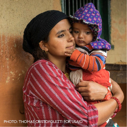 Acting on the Call to Save Lives of #MomandBaby.  Photo: Thomas 