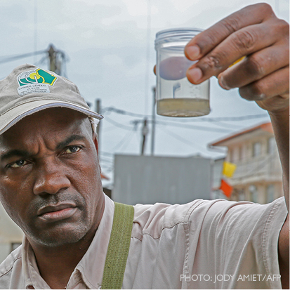 15 Days to Submit Your Solution to Infectious Disease   Threats. Photo: Jody Amiet / AFP