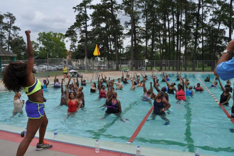 1000 Calorie Aqua Burn Workout At Macgregor Pool Sat July 11 At 9 11 A M