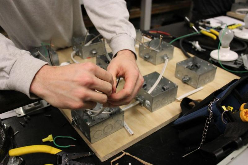 Strange Weca About Weca Spotlights Electrician Trainee Spotlight Mark Wiring Digital Resources Lavecompassionincorg