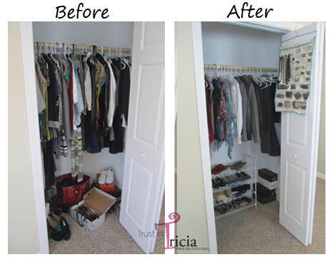 Top 5 Tips for an Organized Closet