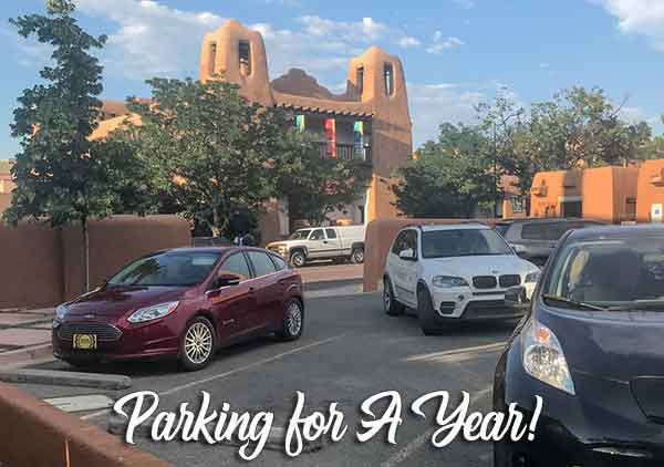 Downtown parking for a year_