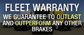 PFC Brakes fleet warranty, we guarantee to outlast and outperform any other brakes on the market