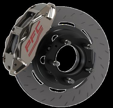 PFC Brakes Super Late Model ZR94 Package Zero Drag