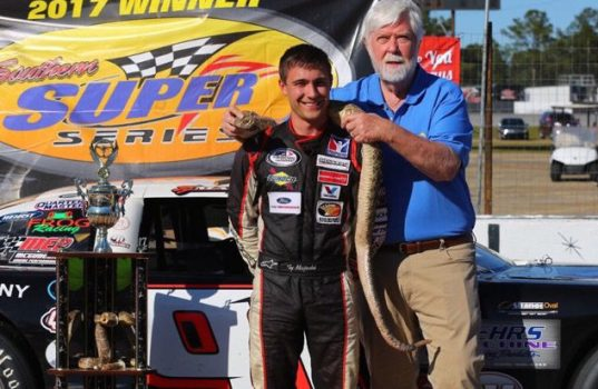 Ty Majeski Wins Alabama Rattler with PFC Brakes
