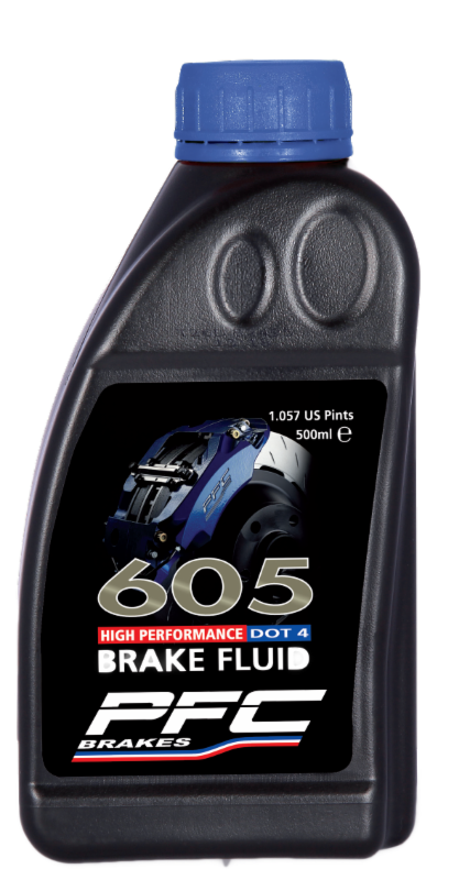 PFC Brakes RH605 Commercial brake fluid with no brake fluid boil, prolonged brake system life, enhanced ABS operation