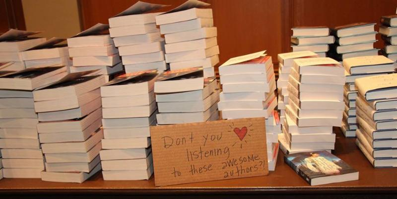We do HEART our authors!