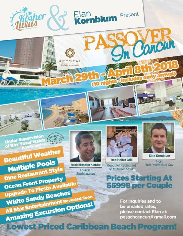 Pesach in Cancun