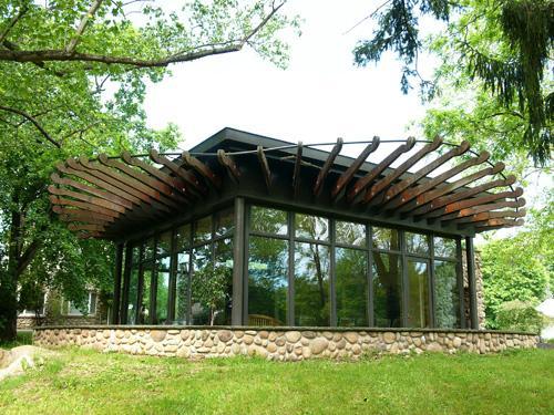 capilla de vidrio