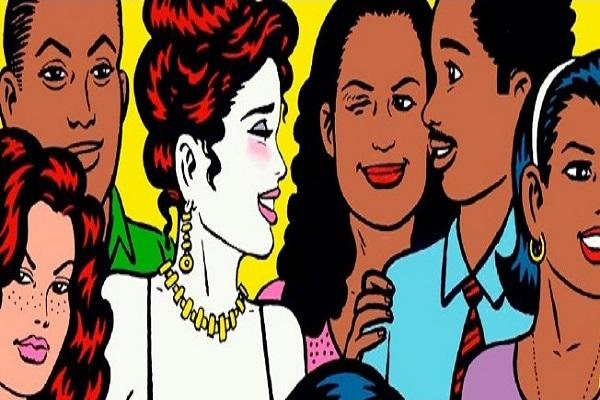 from <i>Love and Rockets</i> by Gilbert Hernandez, 1996