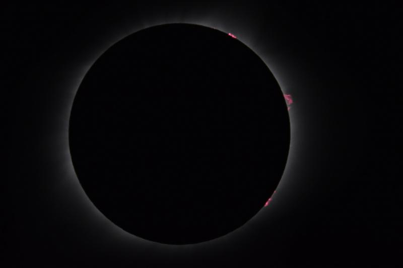MegaMovie Maestros I image of solar eclipse