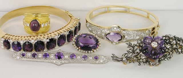 Amethyst Jewelry for February