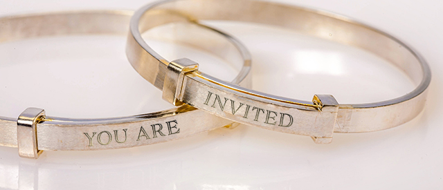 Custom Engraved Bangles