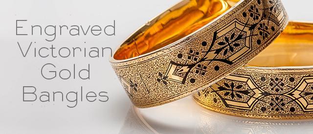 Victorian Gold Bangles