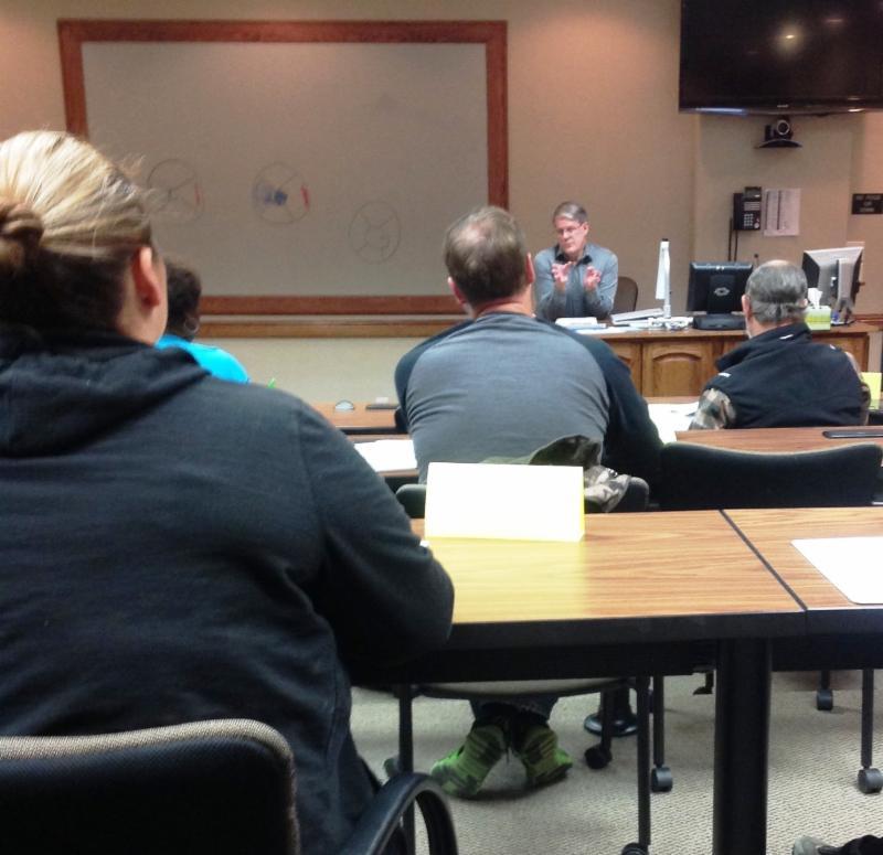 Jon Pool teaching at the SYOB Class