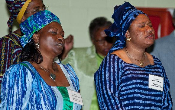 Wailing Women at National Church of God