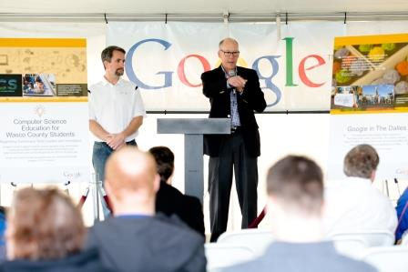 Congressman Walden at Google.