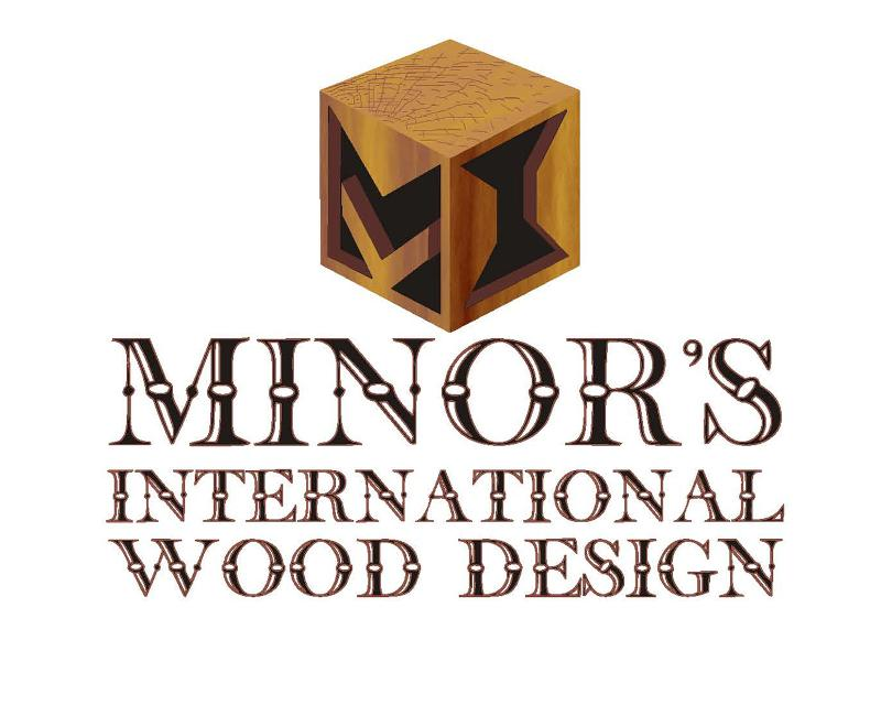 Minor's International Wood Design Logo