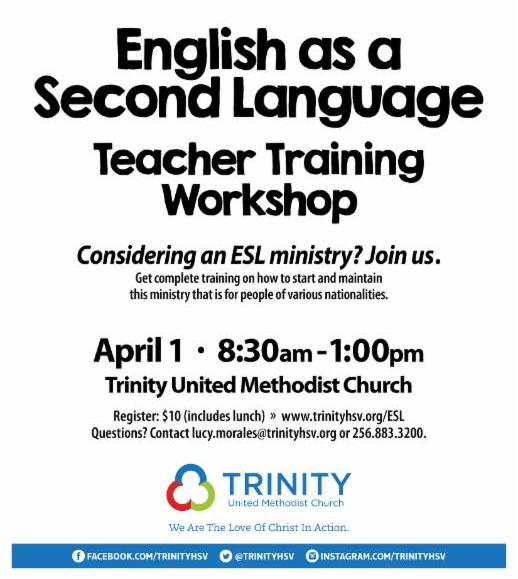 English As A Second Language: English As A Second Language Teacher Training Workshop