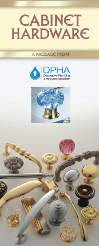 Cover of DPHA Cabinet Hardware brochure
