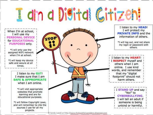 Responsible digital citizen