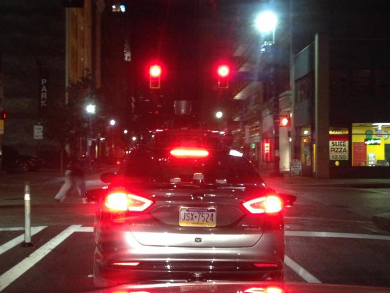Uber Self-Driving Vehicles