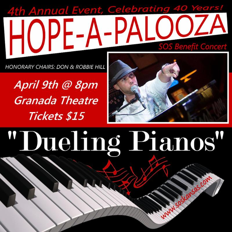 Don't forget to get your tickets for Hope-A-Palooza!
