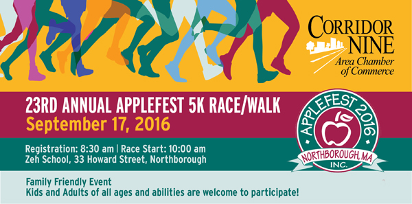 23rd Annual Applefest 5k Race -Walk